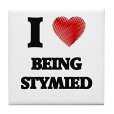 being stymied Tile Coaster