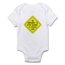 Be Prepared to Stop Infant Bodysuit