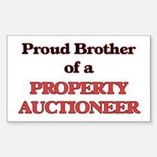 Proud Brother of a Property Auctioneer Decal