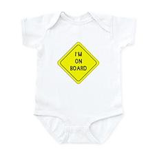 I'm on Board Infant Bodysuit