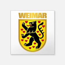 Weimar Sticker
