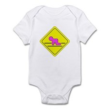 Baby Girl Crawling Zone Infant Bodysuit