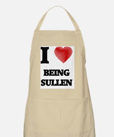being sullen Apron