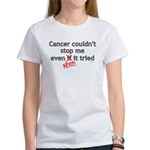 Cancer Couldn't Stop Me Women's T-Shirt