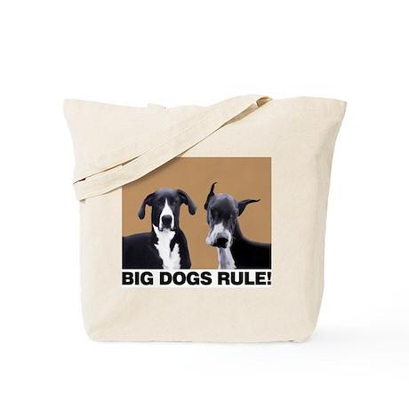 BIG DOGS RULE! Tote Bag