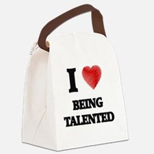 being talented Canvas Lunch Bag