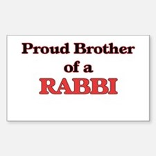 Proud Brother of a Rabbi Decal
