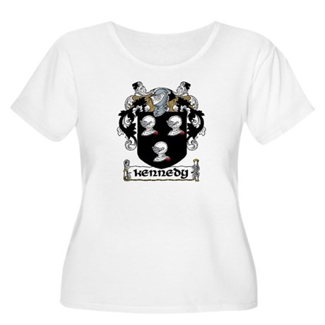 Kennedy Coat of Arms Women's Plus Size Scoop Neck