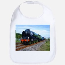 Funny Trains Bib