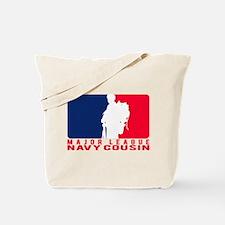 Major League Cousin - NAVY Tote Bag