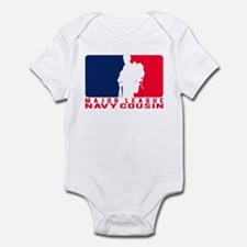 Major League Cousin - NAVY Infant Bodysuit