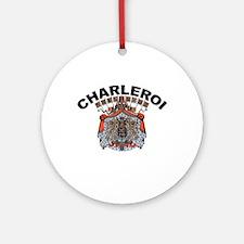 Charleroi, Belgium Ornament (Round)