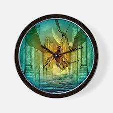 Awesome dragon Wall Clock
