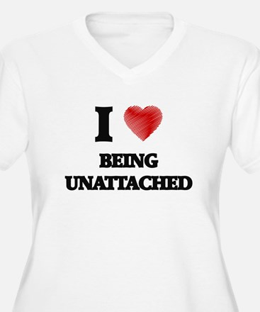 being unattached Plus Size T-Shirt
