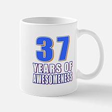 37 Years Of Awesomeness Mug