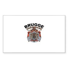 Brugge, Belgium Rectangle Bumper Stickers