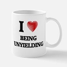 being unyielding Mugs