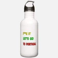 Let's go to Portugal Water Bottle