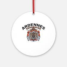 Ardennes, Belgium Ornament (Round)