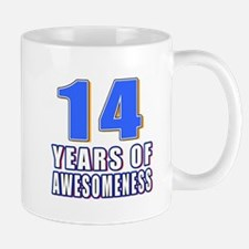14 Years Of Awesomeness Mug