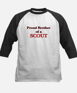 Proud Brother of a Scout Baseball Jersey