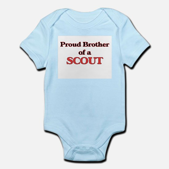 Proud Brother of a Scout Body Suit