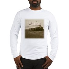 Railfan Long Sleeve T-Shirt