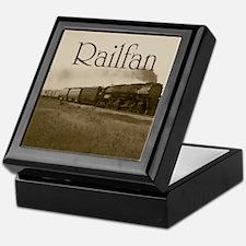 Railfan Keepsake Box