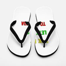 Let's go to Romania Flip Flops
