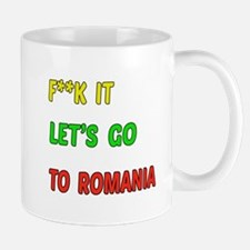 Let's go to Romania Mug