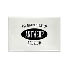 I'd Rather Be in Antwerp, Bel Rectangle Magnet