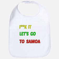 Let's go to Samoa Bib
