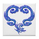 Just Heart Art Tile