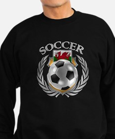 Wales Soccer Fan Sweatshirt (dark)
