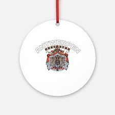 Antwerpen, Belgium Ornament (Round)