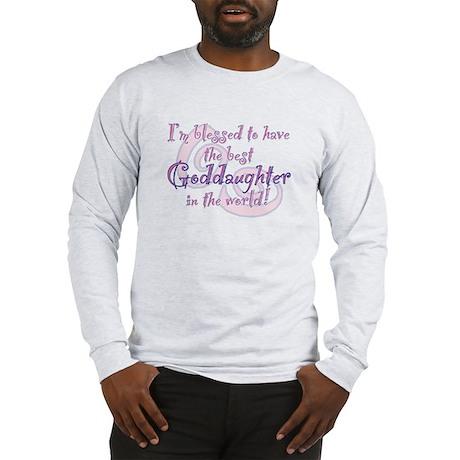 Blessed Goddaughter Long Sleeve T-Shirt
