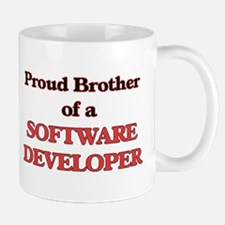 Proud Brother of a Software Developer Mugs