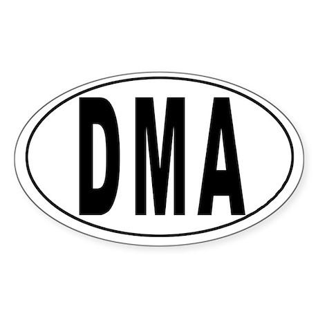 DOMINICA Oval Sticker
