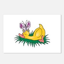 Cute Sleeping Duck Postcards (Package of 8)