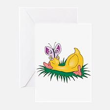 Cute Sleeping Duck Greeting Cards (Pk of 20)