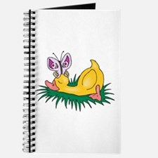 Cute Sleeping Duck Journal