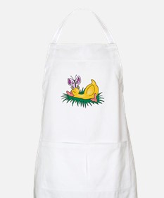 Cute Sleeping Duck BBQ Apron