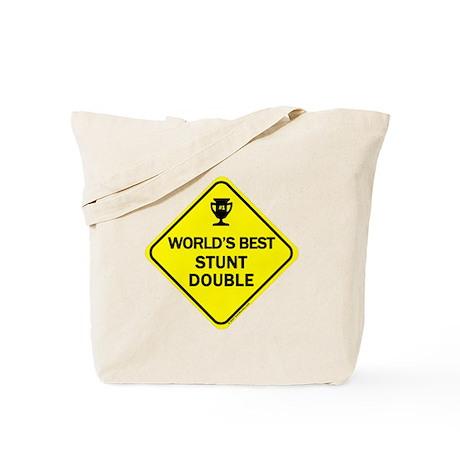 Stunt Double Tote Bag