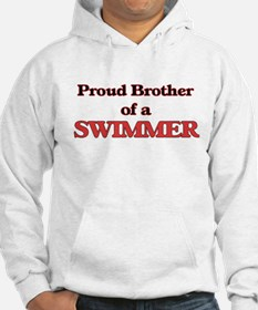 Proud Brother of a Swimmer Hoodie