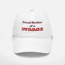 Proud Brother of a Swimmer Baseball Baseball Cap