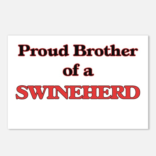 Proud Brother of a Swineh Postcards (Package of 8)