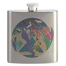 Tropical Creation Flask