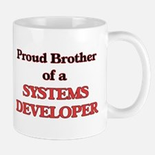 Proud Brother of a Systems Developer Mugs