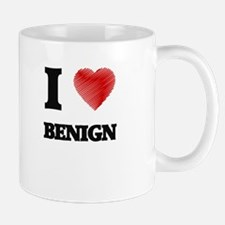 I Love BENIGN Mugs