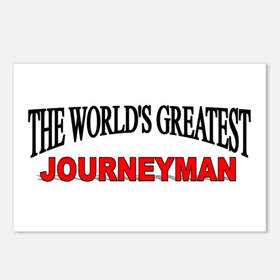 """The World's Greatest Journeyman"" Postcards (Packa"